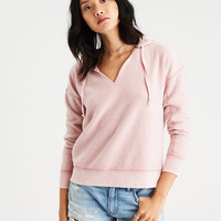 AE Cozy Inside & Out Hoodie, Blush