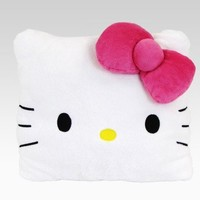 shop.sanrio.com - Hello Kitty Large Square Cushion: Face
