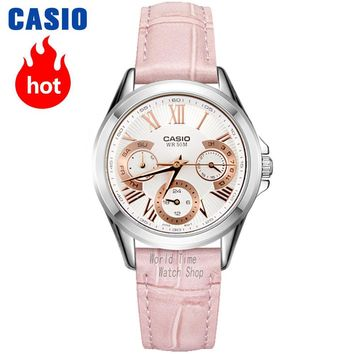 Casio watch Female pointer series fashion quartz female watch LTP-E308D-1A LTP-E308D-7A LTP-E308L-4A