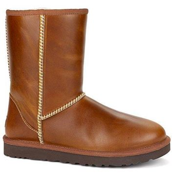 UGG Women's Classic Short Leather ugg snow boots