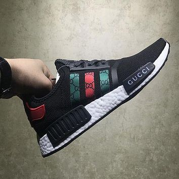 Adidas  GUCCI NMD Fashion Women Breathable Running Sneakers Sport Shoes