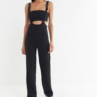 Tiger Mist Peyton Buckle-Strap Jumpsuit | Urban Outfitters