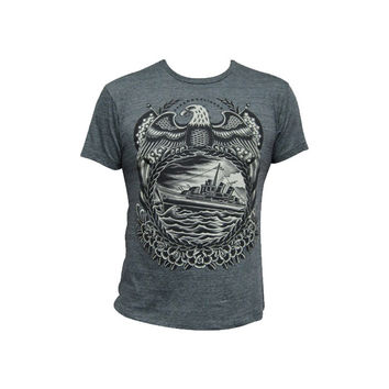 Black Market Art Company Battleship Mens Tee