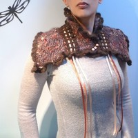 RIBBONS - scarflette/cowl