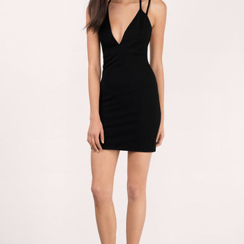 Florence Plunging Bodycon Dress