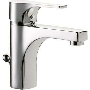 Snow Single Lever Handle Bathroom Lavatory Basin Faucet With Pop-up Drain