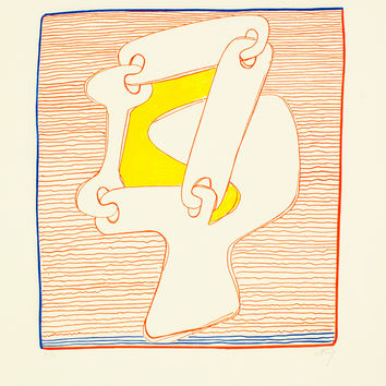 "SOREL ETROG ""KEY HEAD GENEVA"" LITHOGRAPH, 1967"