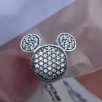 aee1a4fd8 Disney Pandora Mickey Mouse Ears Shine On Bracelet Clip Charm Bead
