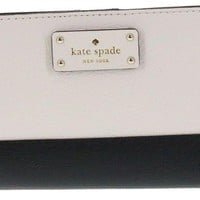 LMFON2D Kate Spade New York Tellie Grove Street Embossed Leather Wallet