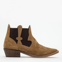 Ganni / Cowboy Boot in Ermine