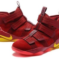 DCCKD9A Nike LeBron Soldier 11 'Playoffs' Basketball