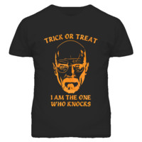 Heisenberg Knocks Trick or Treat Halloween T Shirt -