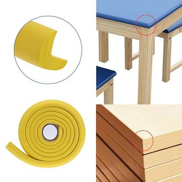 Baby Safety Table Desk Edge Corner Cushion Guard Strip Thickening Softener Bumper Kids Children Anti-knock Protection Strip