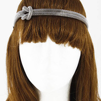 Twist Tied Box Chain Head Band