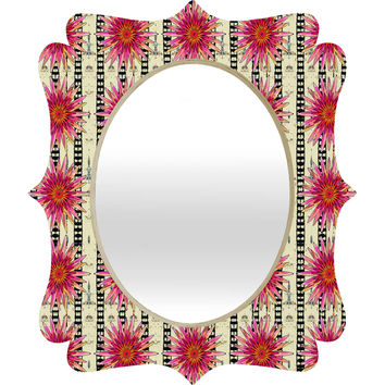 Ingrid Padilla Flower Country Quatrefoil Mirror
