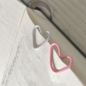 5 Cute Kawaii Heart Paper Clip Decor For Pretty Organized Planner