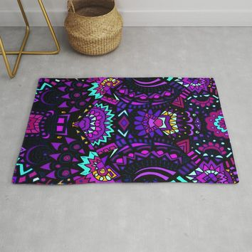 Nightshade Rug by duckyb