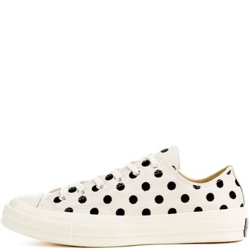 Unisex Chuck Taylor All Star '70 Embroidered Dots Low Top Sneaker - Beauty Ticks