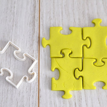 Puzzle (Jigsaw) Cookie Cutter