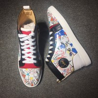 Cl Christian Louboutin Style #2112 Sneakers Fashion Shoes - Best Online Sale