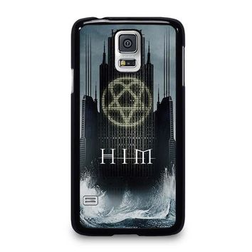 HIM BAND HEARTAGRAM Samsung Galaxy S5 Case Cover