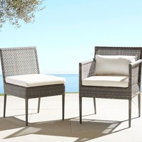 CAMMERAY ALL-WEATHER WICKER DINING CHAIRS