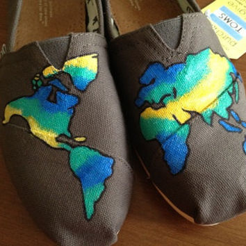 Globe Custom Painted TOMS