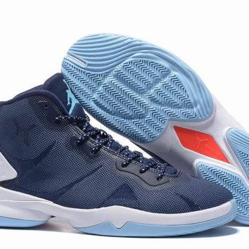 Men\\u0026#39;s Nike Air Jordan Super Fly 4 Blake Griffin Blue