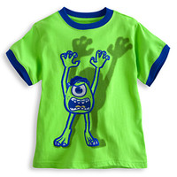 Disney Mike Wazowski Tee for Boys - Deluxe Storytelling | Disney Store