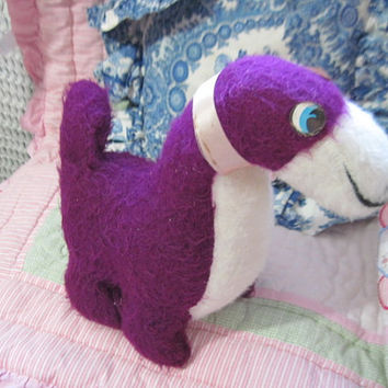 Sweet Purple Stuffed Plush  Dinosaur SweetSALE CLEARINGOUT25 /Must Be used at check out