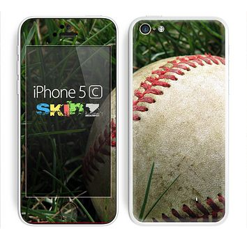 The Grunge Worn Baseball Skin for the Apple iPhone 5c