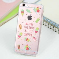 Cute Ice Case for iPhone 5s 5se 6 6s Plus Gift 318