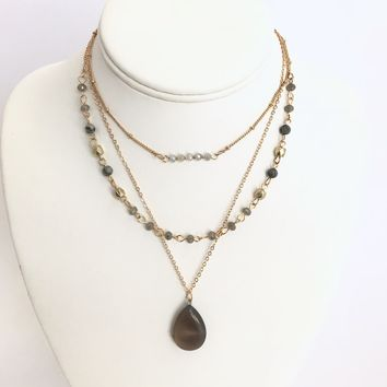 Cleopatra Gold Layered Necklace