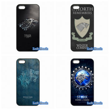 Games of Thrones House Stark Hard Phone Case Cover For Samsung Galaxy S S2 S3 S4 S5 MINI S6 S7 edge Plus Note 2 3 4 5