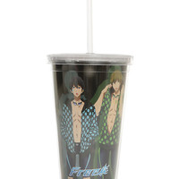 Free! Boys In Hoodies Acrylic Cup