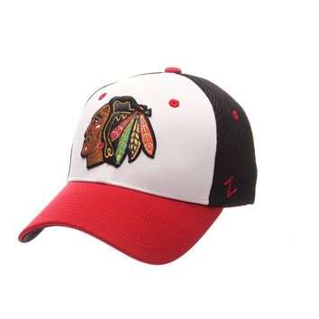 Chicago Blackhawks Kickoff Flex Fit Hat By Zephyr
