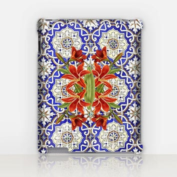 Bohemian iPad Case For - iPad 2, iPad 3, iPad 4 and iPad Mini, Fine Art Hard Case
