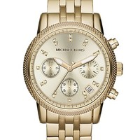 Women's Michael Kors 'The Ritz' Chronograph Bracelet Watch, 36mm