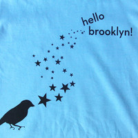 SALE Ready to Ship Hello Brooklyn Kids Youth by BigBridgeStudios