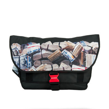 Money rolled messenger bag (SPRAYGROUND)