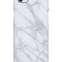 Marble White iPhone 6 TS Deflector Case