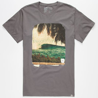 Reef Slidertron Mens T-Shirt Charcoal  In Sizes