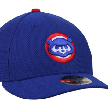 Men's Chicago Cubs New Era Royal Diamond Era Low Profile 2017 Spring Training Alternate 59FIFTY Fitted Hat