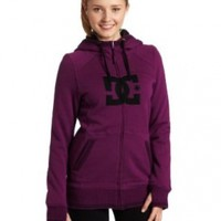 DC Women's Felice 12 Fleece (Dark Purple, Medium)