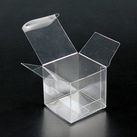 Cube Box, Clear Plastic | Bramble Berry® Soap Making Supplies