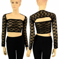 "Black Lace ""Samba Sleeve"" Dance Shrug"