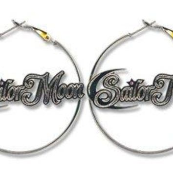 Sailor Moon Sailor Moon Hoop Earrings