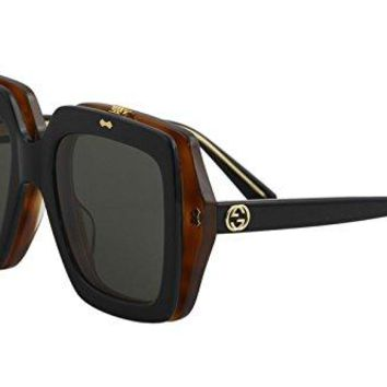 Sunglasses Gucci GG 0088 S- 002 BLACK/GREY