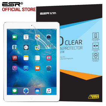 ESR HD Clear Full Screen Transparent film Screen Protector for iPad Air/Air 2 iPad 5