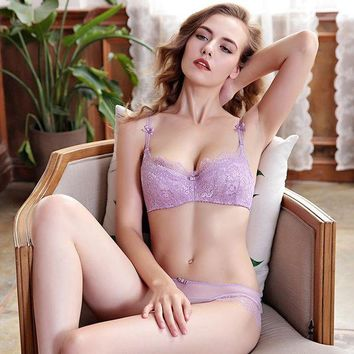 ac PEAPB5Q Hot Sale Thick Long Hot Deal Bra Sexy Lace Underwear Set False Eyelashes [296078377001]